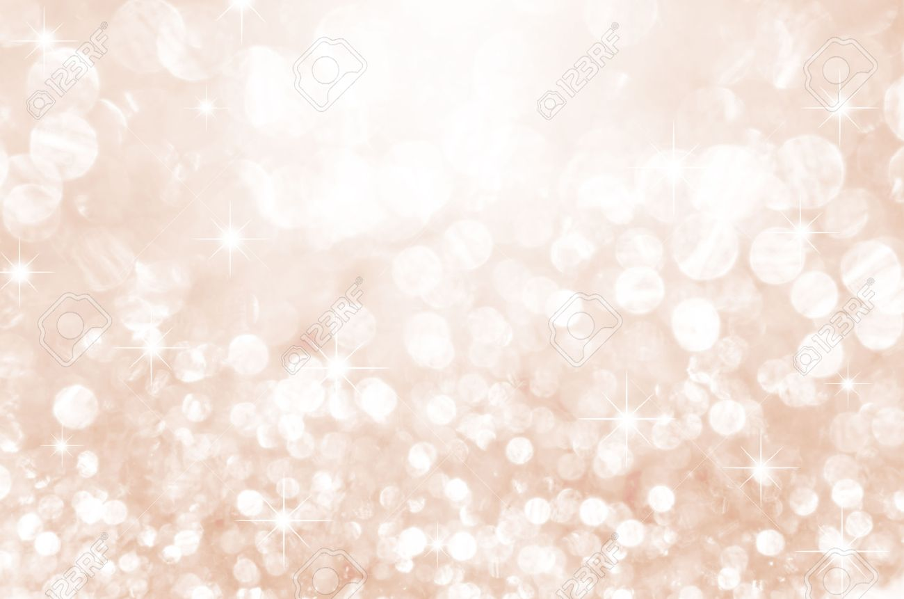 Lights on pink with star bokeh background. - 44531800