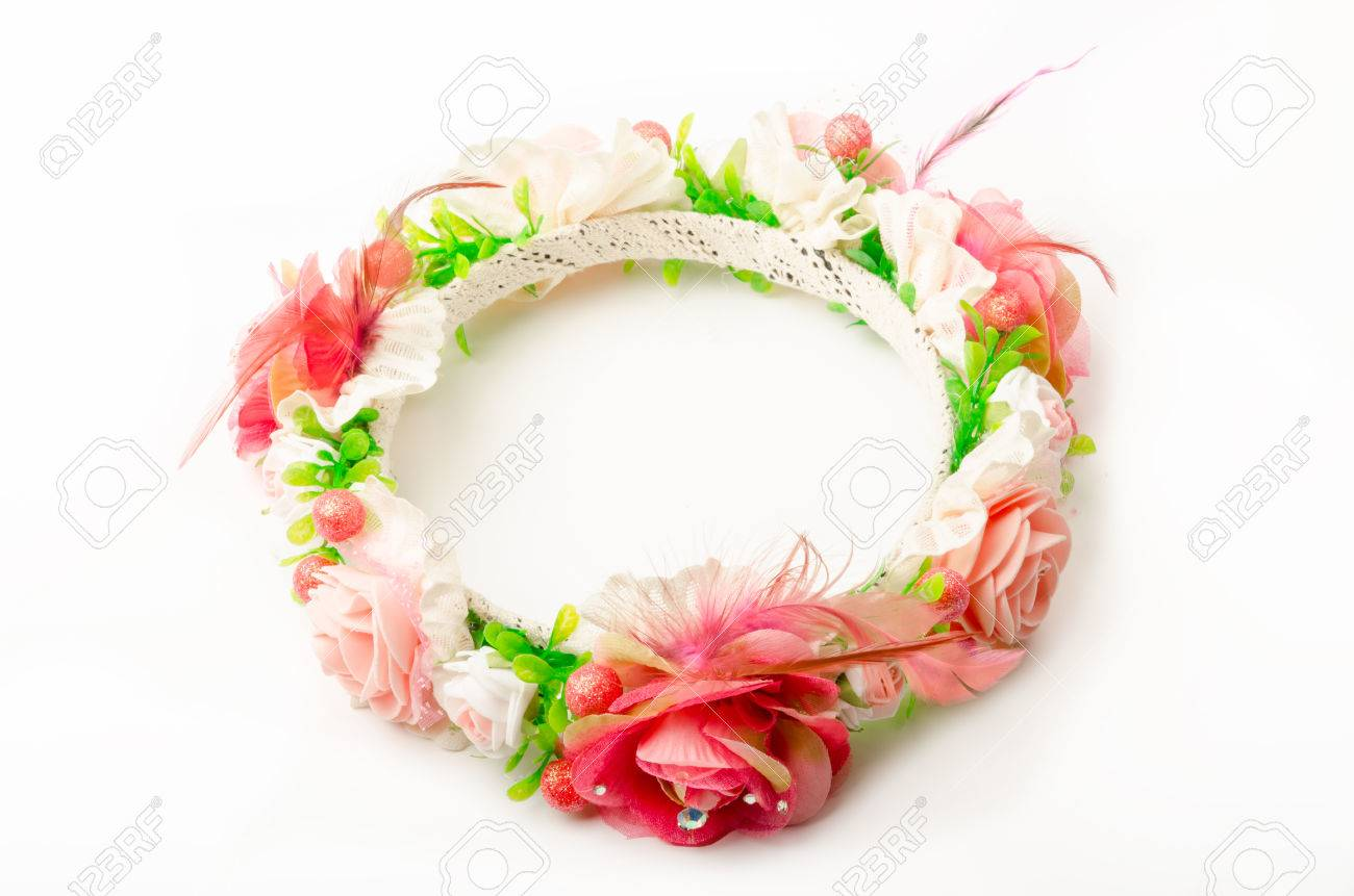 Forest coronal or colorful fake flower crown isolated on white forest coronal or colorful fake flower crown isolated on white background stock photo 47757326 izmirmasajfo