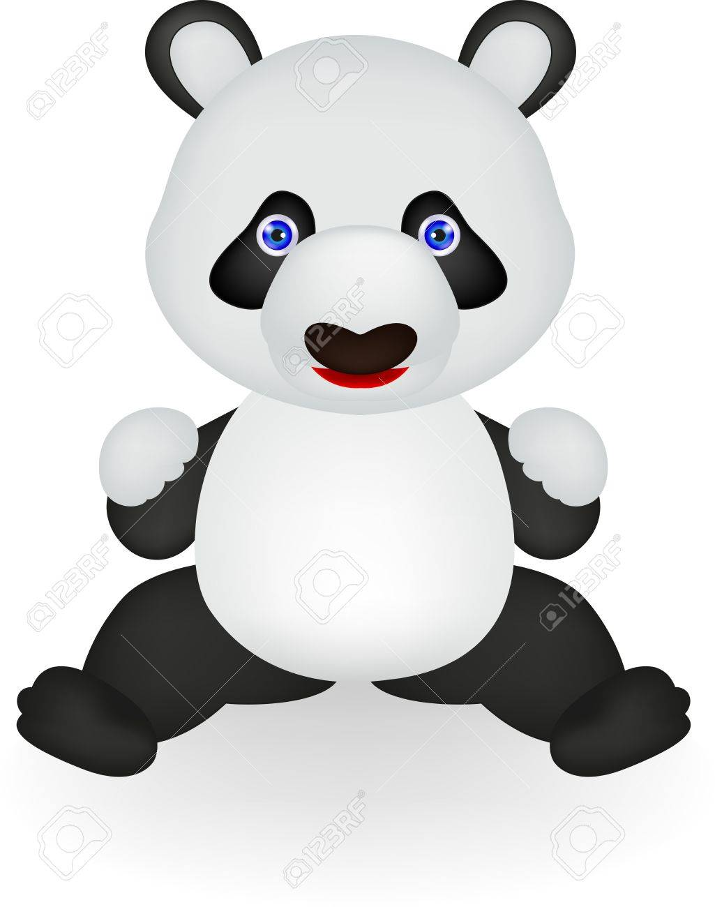 funny panda Stock Vector - 16453952