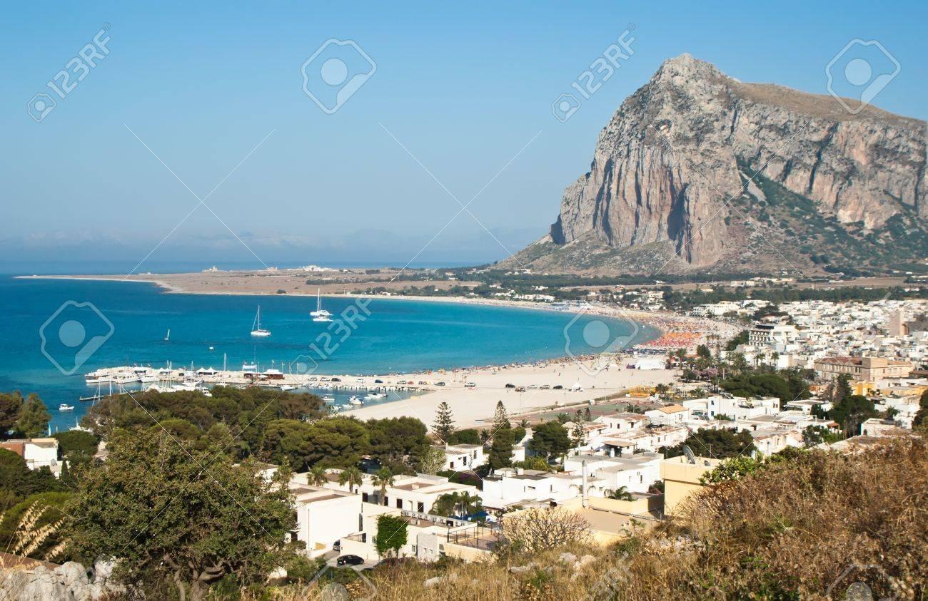 Beautiful View of San Vito Lo Capo town in Sicily - 20746908