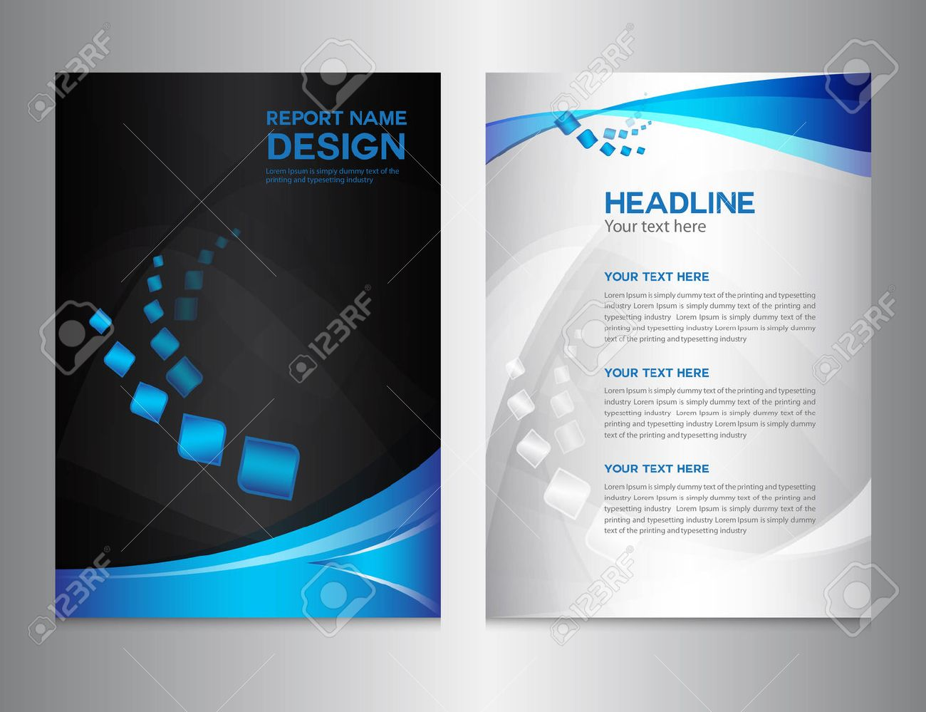 company profile design template