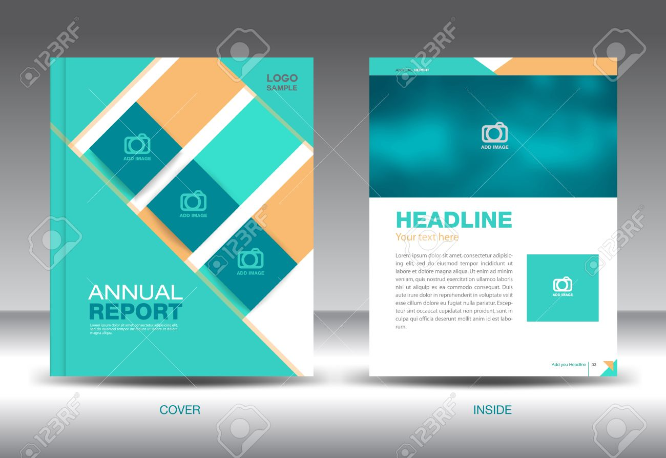green orange blue annual report template brochure design cover green orange blue annual report template brochure design cover template fl yer