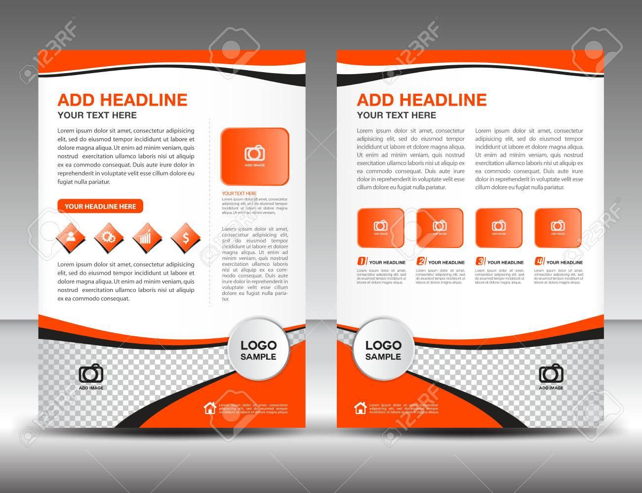 Negocios Folleto Plantilla De Diseño De Tarjeta Publicitaria De ...