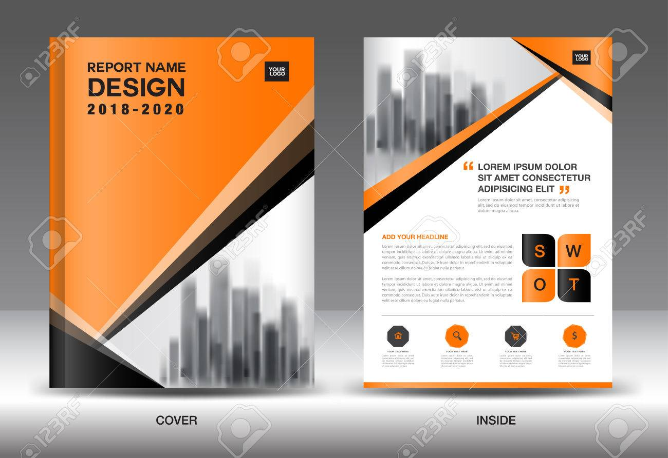 Annual report brochure flyer template orange cover design business annual report brochure flyer template orange cover design business advertisement magazine ads accmission Gallery