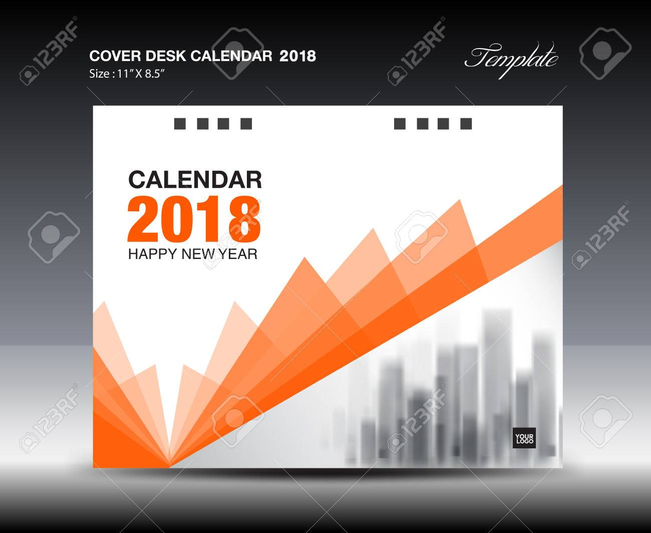 Desk Calendar Design Templates Ukrandiffusion