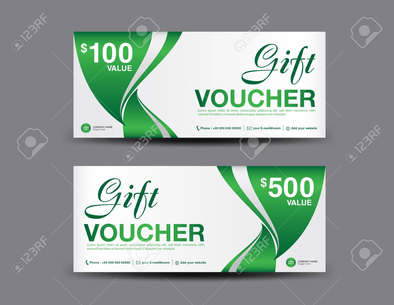 Gift voucher template layout business flyer design jungle leaf gift voucher template layout business flyer design jungle leaf background green coupon cheaphphosting Gallery