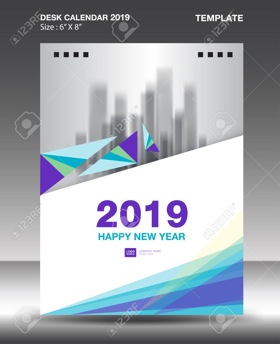Cover Desk Calendar 2019 Design Template Flyer Template Ads Royalty Free Cliparts Vectors And Stock Illustration Image 111516480