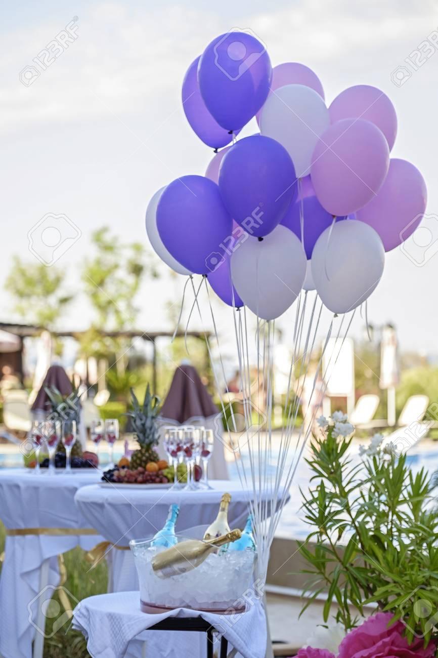 Birthday Decoration In Restaurant