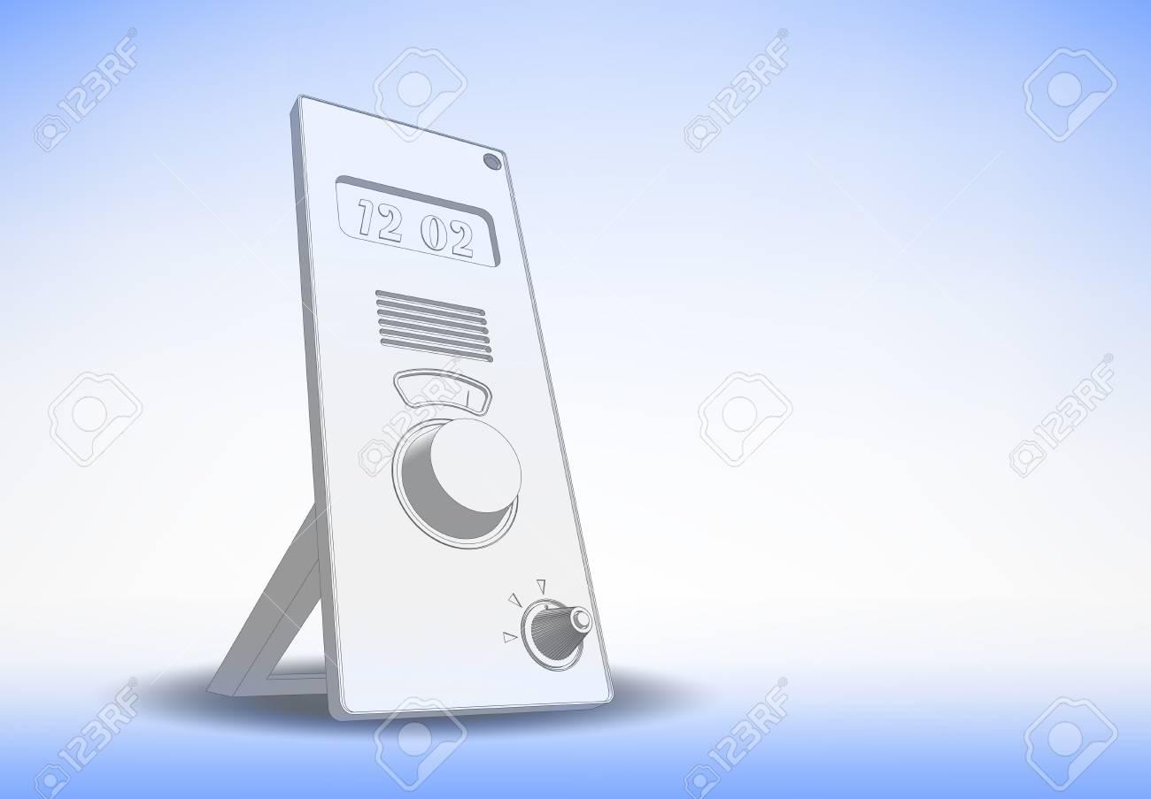 digital clock Stock Vector - 17031083
