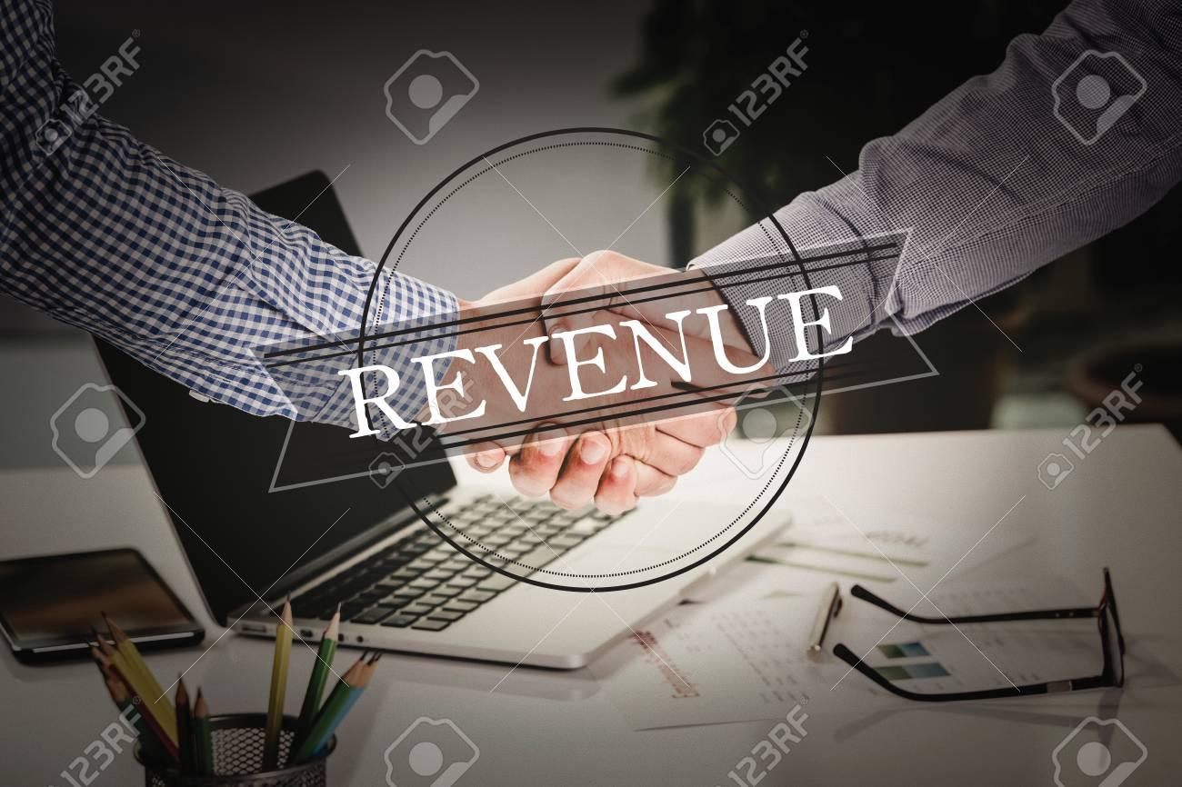 Business Agreement Partnership Revenue Communication Concept Stock