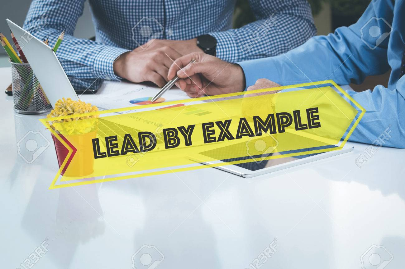 business working office lead by example teamwork brainstorming business working office lead by example teamwork brainstorming concept stock photo 58656426