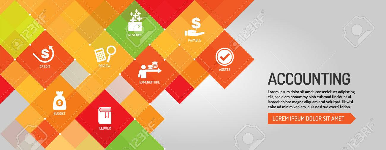 Accounting Banner Royalty Free Cliparts Vectors And Stock