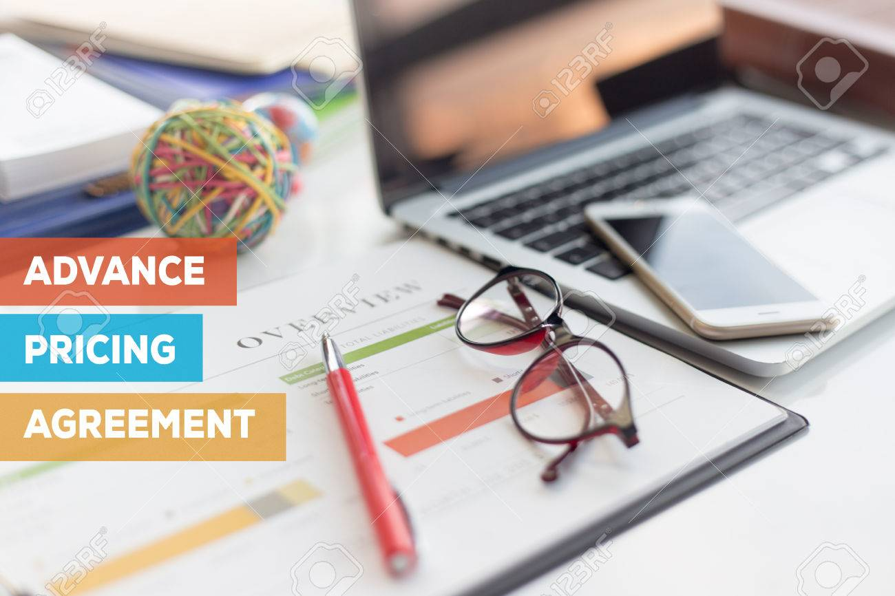 Advance Pricing Agreement Concept Stock Photo Picture And Royalty