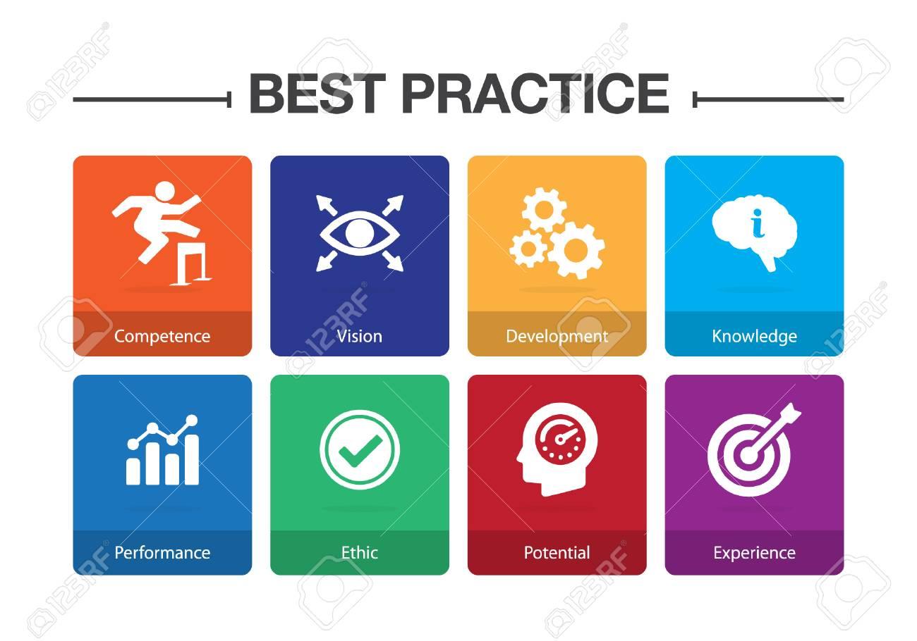 Best Practice Infographic Icon Set - 102790222