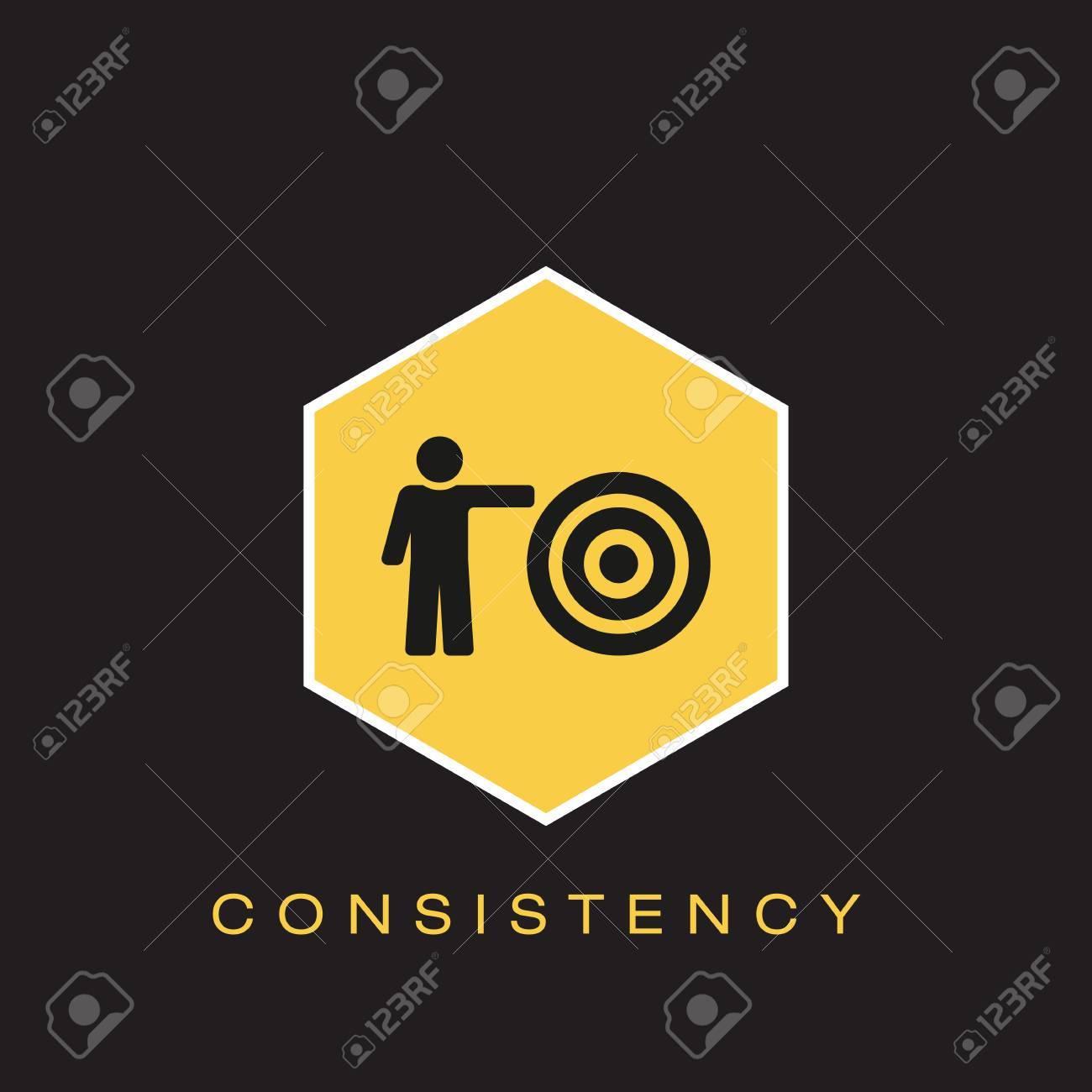 Consistency Icon - 102790708