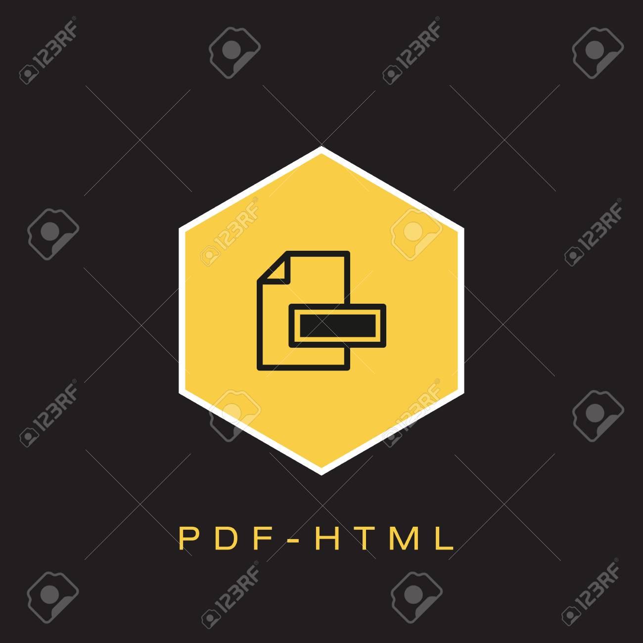 Html Pdf Icon