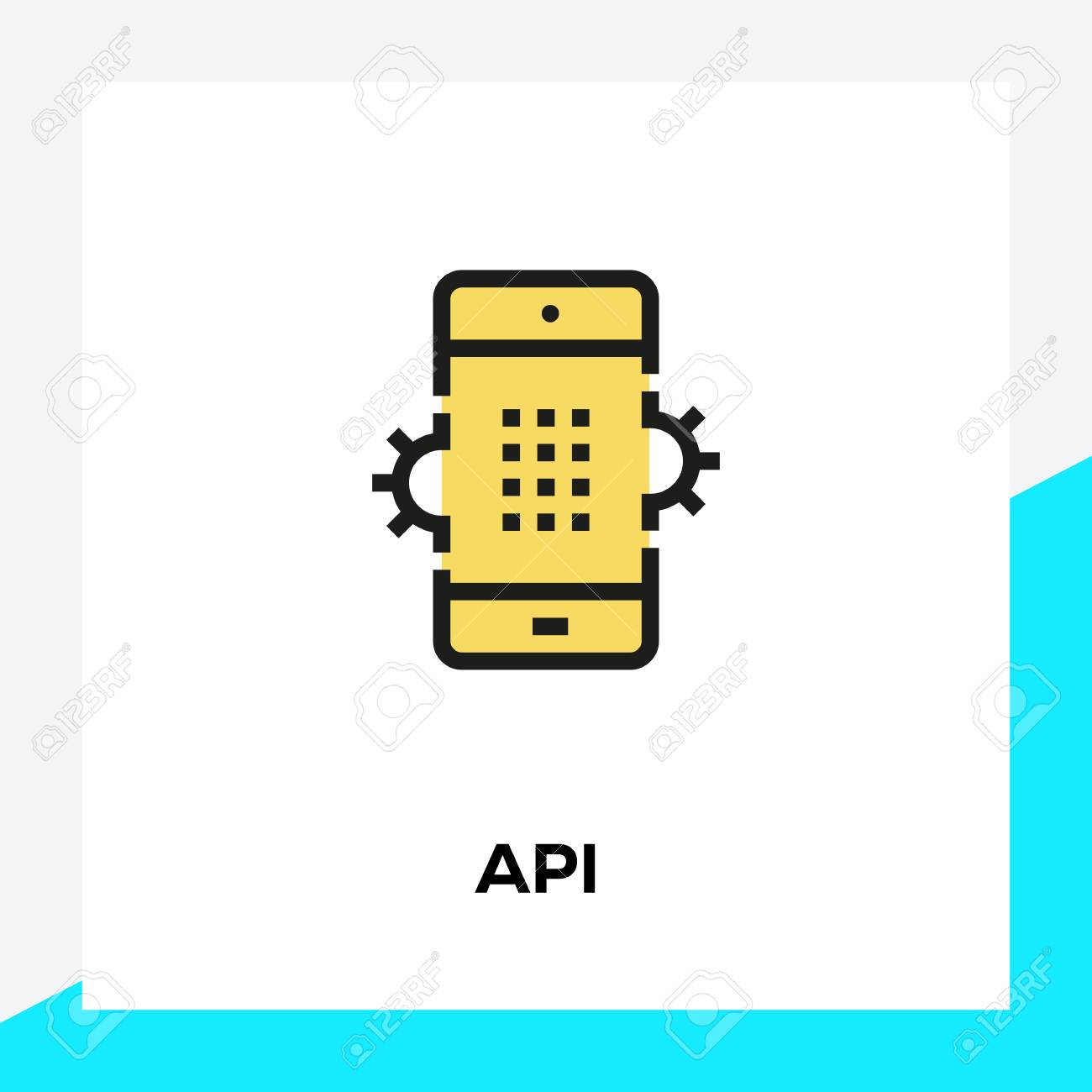 API LINE ICON SET