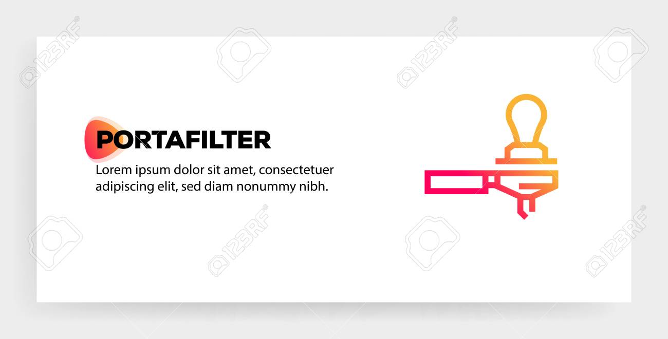 portafilter icon concept royalty free cliparts vectors and stock illustration image 119873672 123rf com