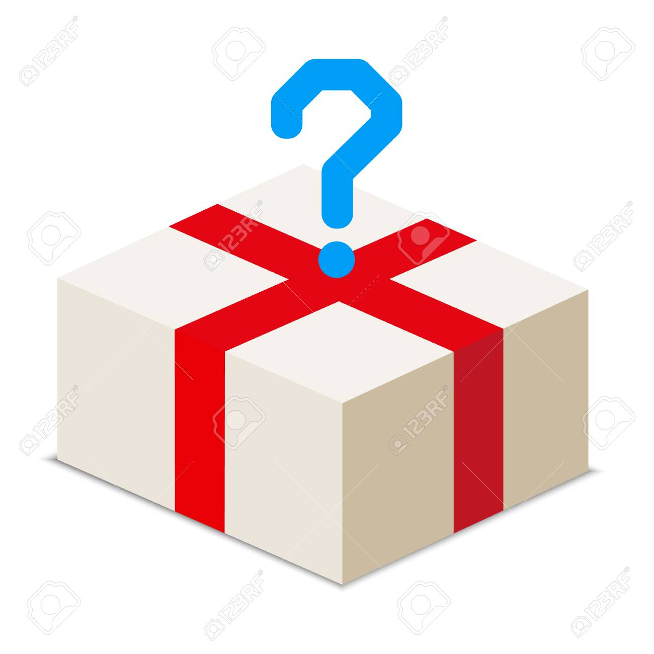 order a package of various goods - vector stock - 34906741