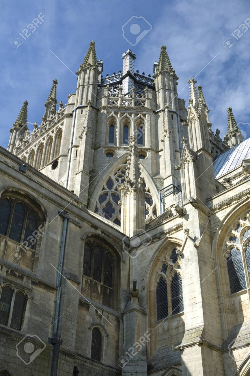 Ely Cathedral in the City of Ely, Cambridgeshire Uk Stock Photo - 9103163