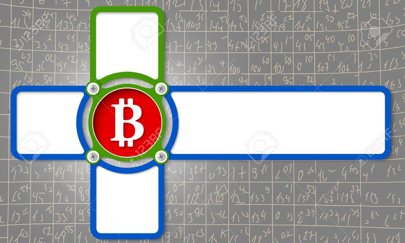 Cuatro Marco Para Cualquier Texto Con El Símbolo De Moneda De Poco ...