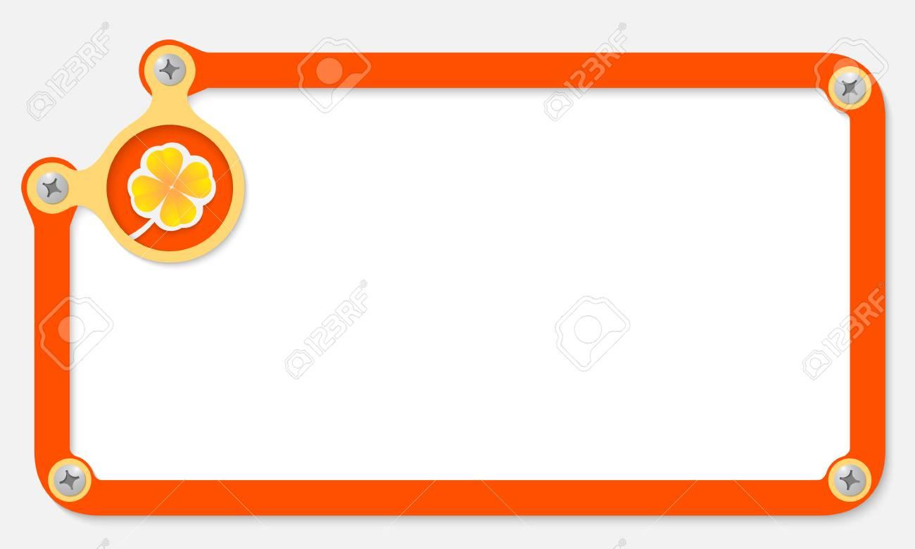 Lujo Marco Naranja Friso - Ideas de Arte Enmarcado - silvrlight.info