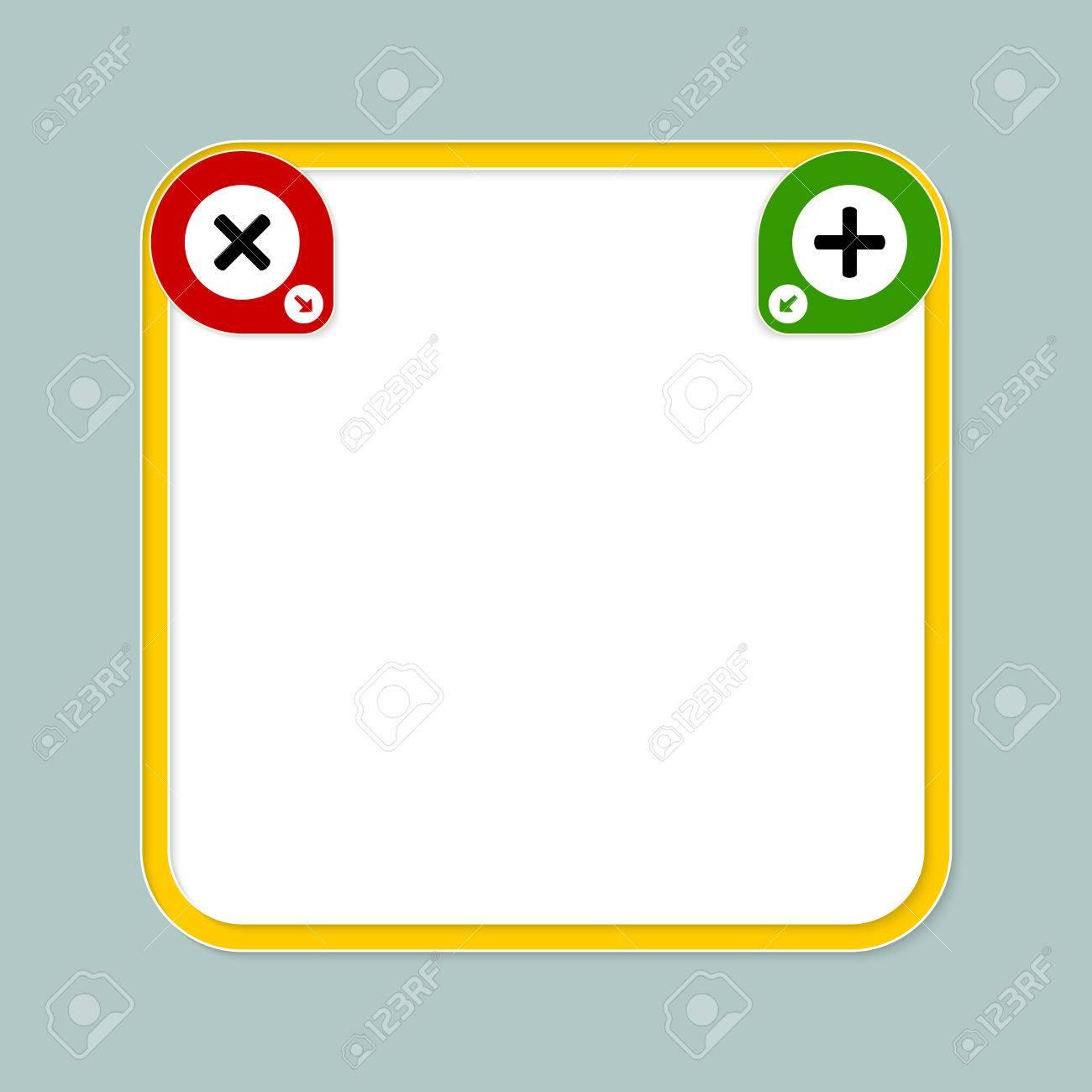 Fantástico Marco De Imagen De Color Amarillo Bandera - Ideas ...