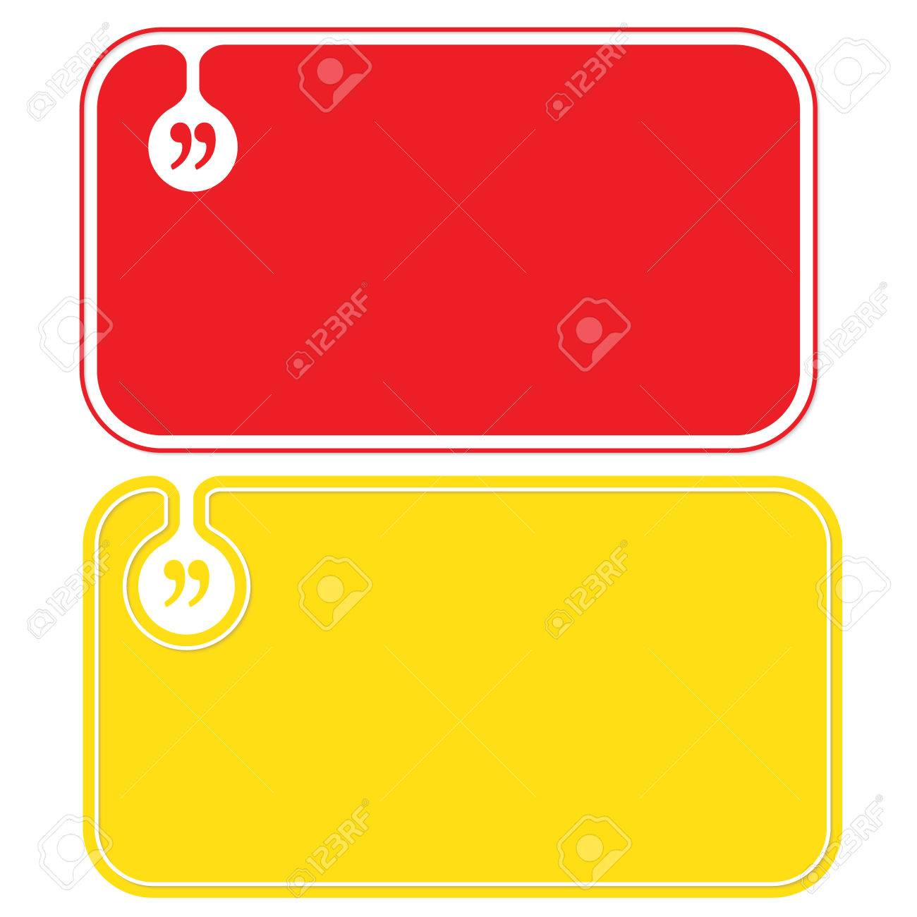 Colored Business Cards And Square Brackets Royalty Free Cliparts ...