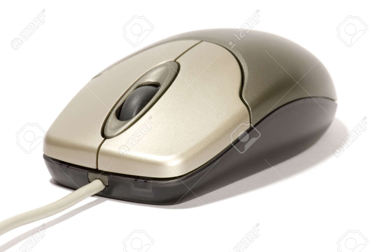 series: isolated on white: computer mouse Stock Photo - 726961