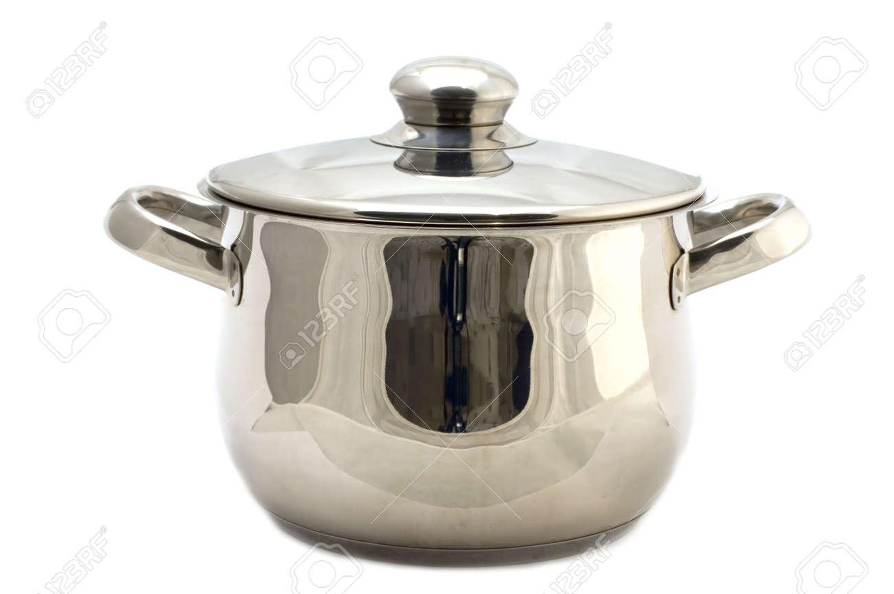 Amazing Objet De Cuisine #7: Objet Sur Blanc - Ustensile De Cuisine - Metal Pan Banque Du0027images - 2366853