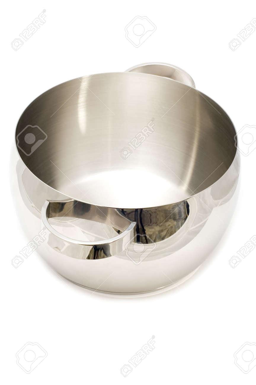 object on white - kitchen utensil pan Stock Photo - 3375741