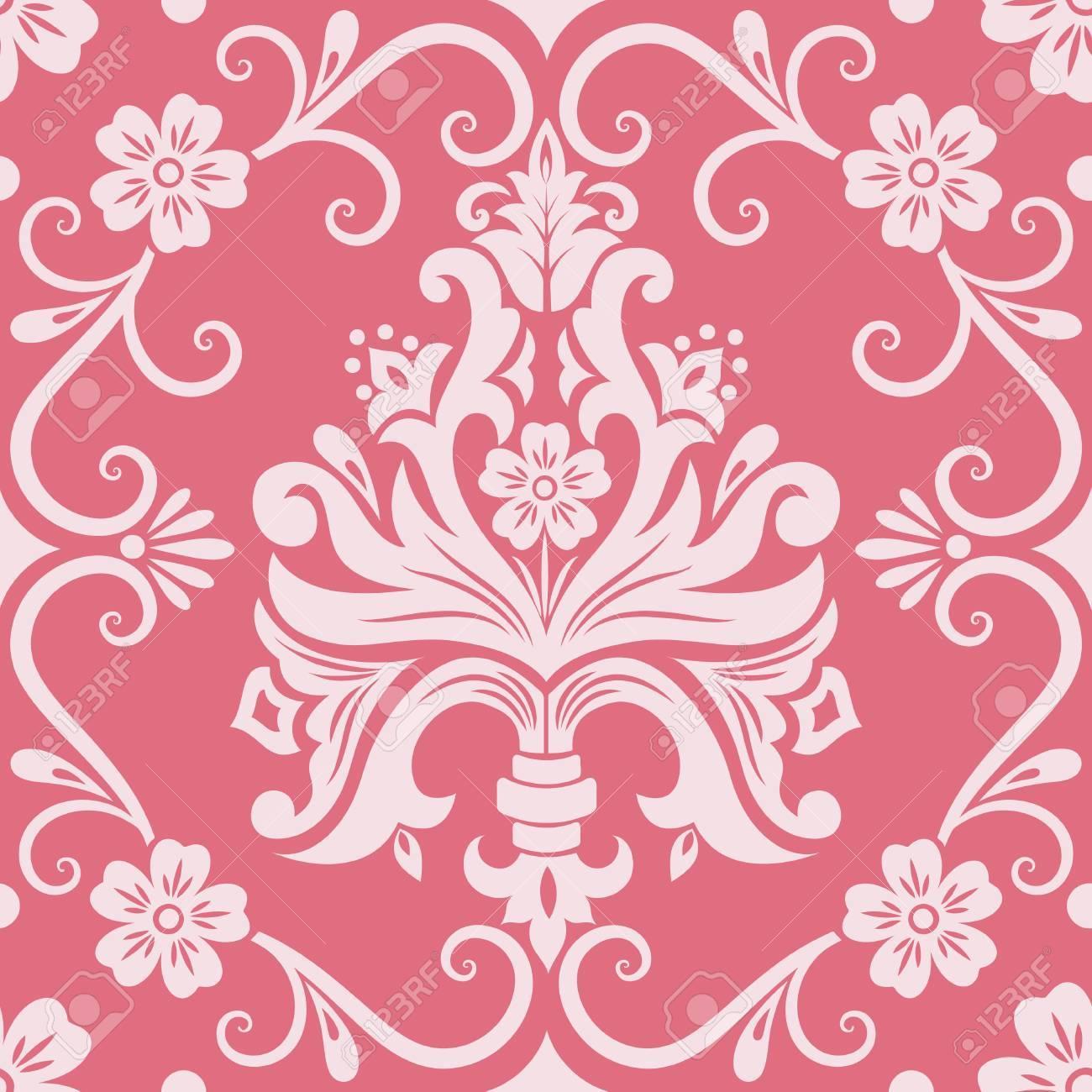 Vector damask seamless pattern element Stock Vector - 16811862