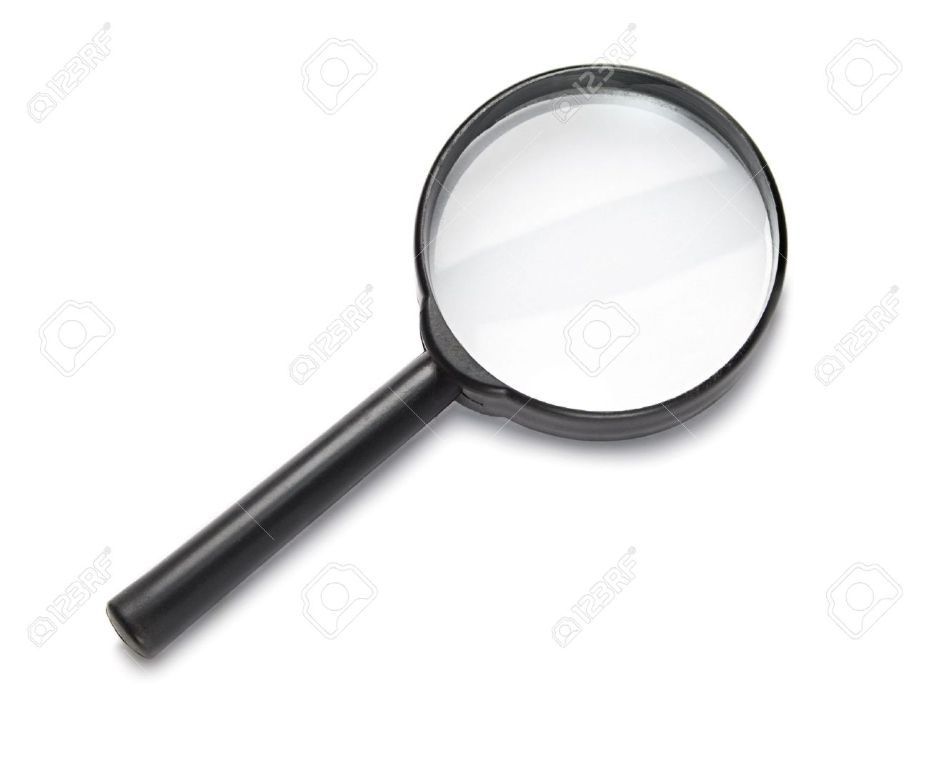 Magnifying glass isolated on the white background. Stock Photo - 6595584