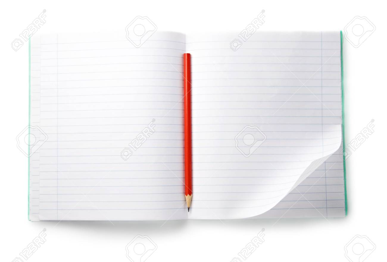 Notebook isolated on the white background Stock Photo - 7047844