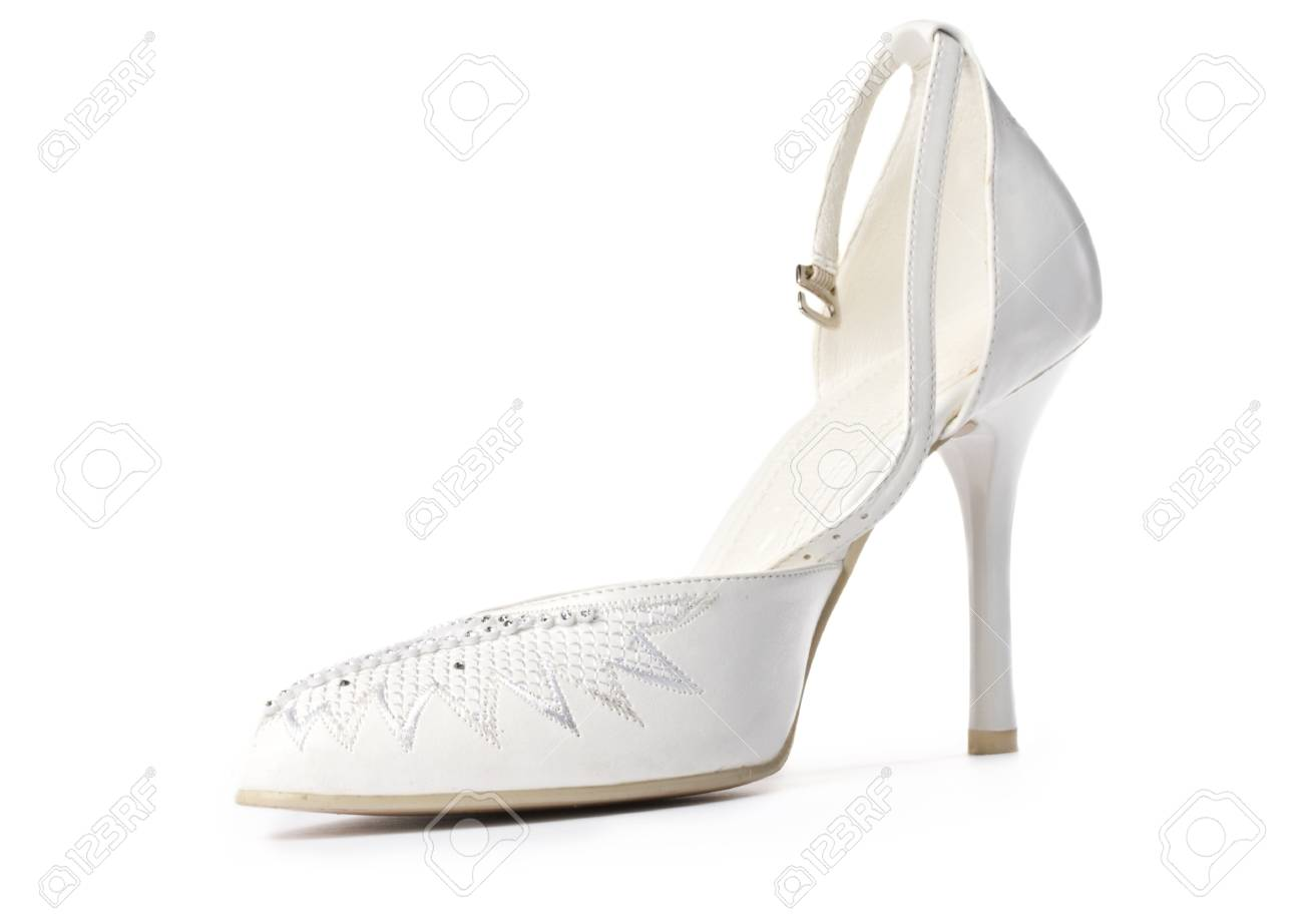 Women shoe isolated on white Stock Photo - 10681676