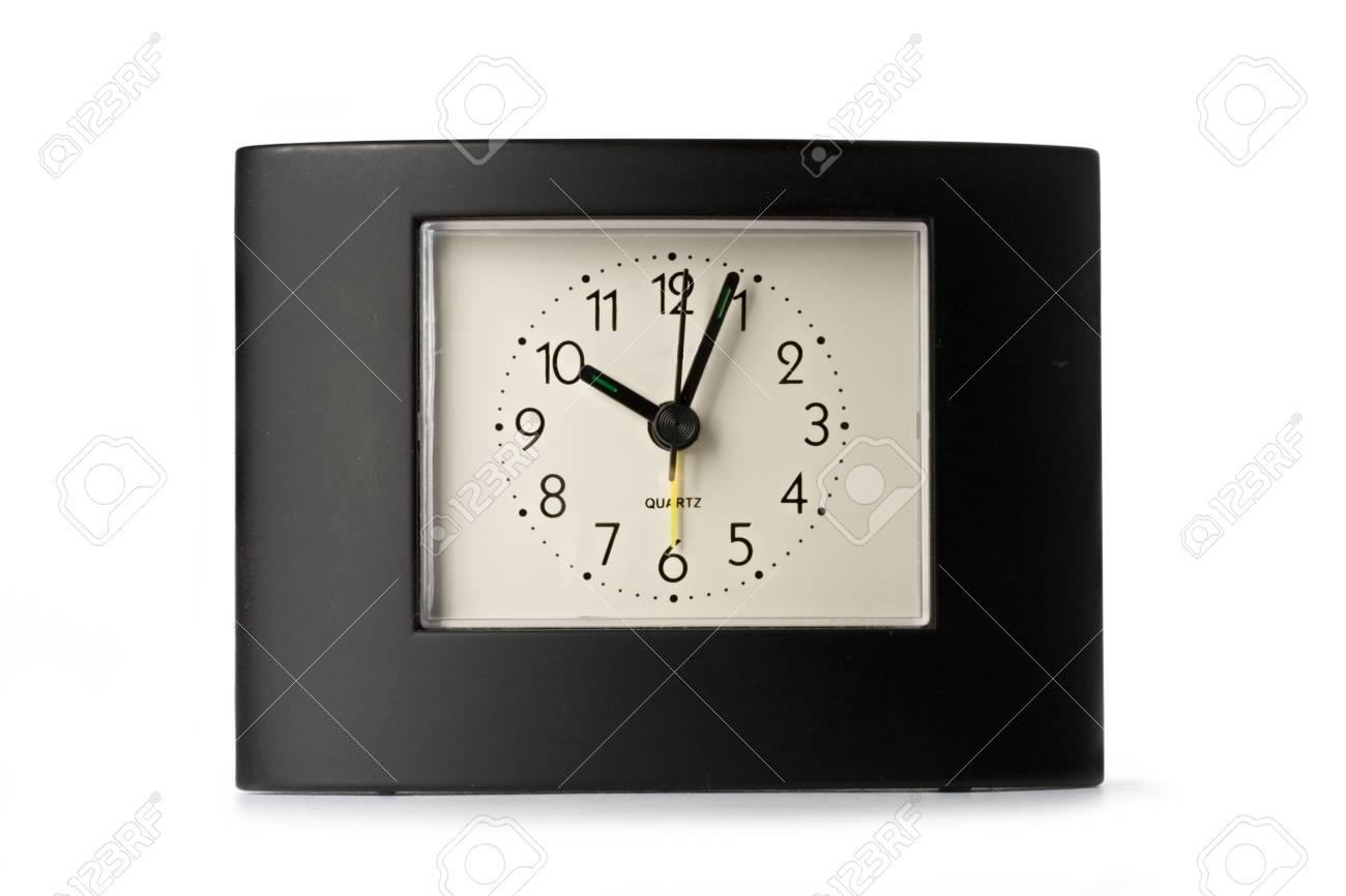 Clock isolated on white background Stock Photo - 10681717