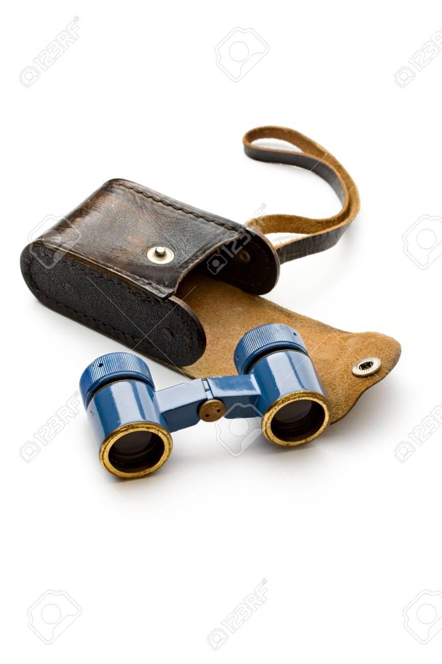 Binoculars isolated on white Stock Photo - 11080759