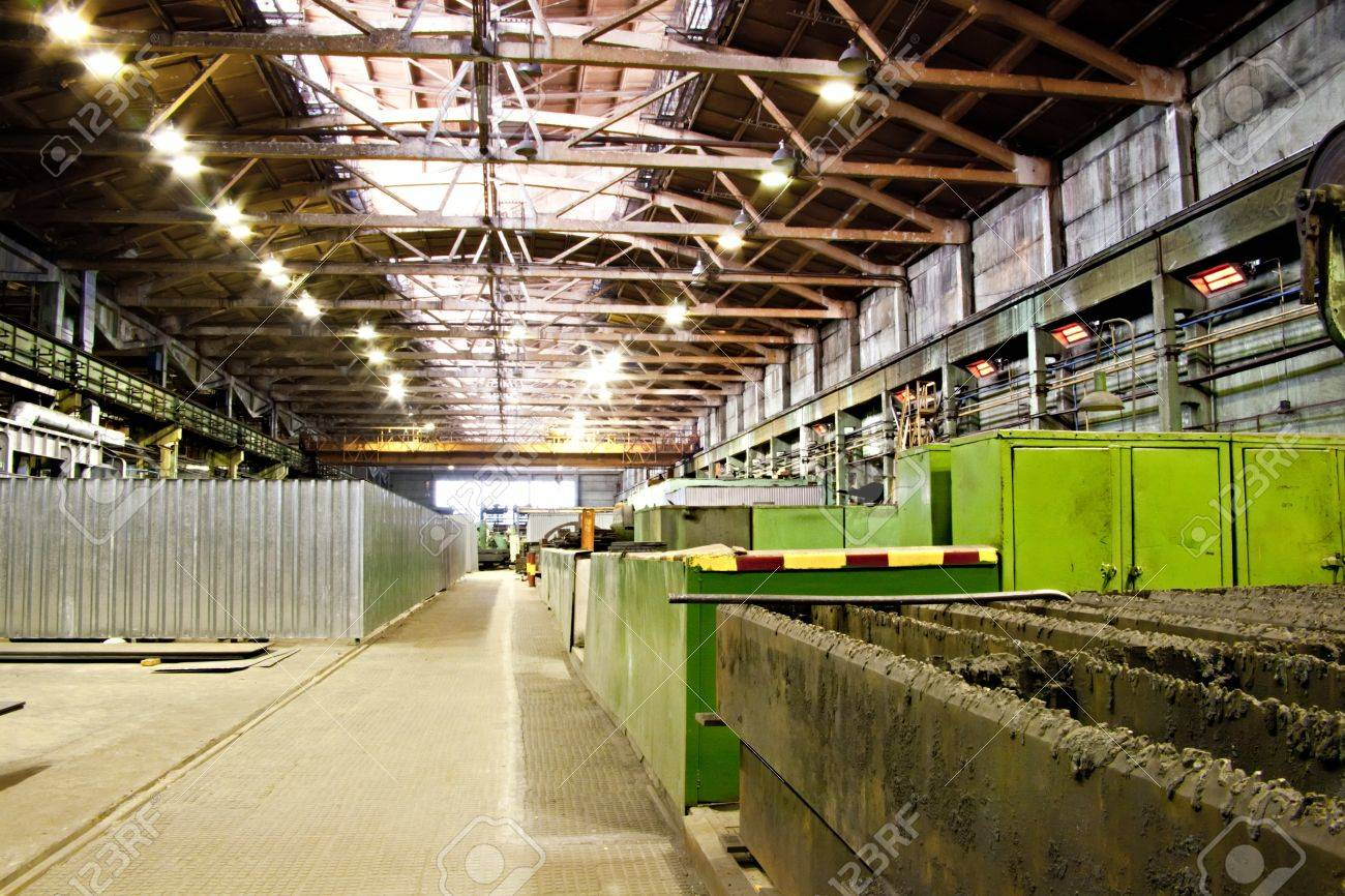 Workshop of hinery plant Stock Photo - 11748572