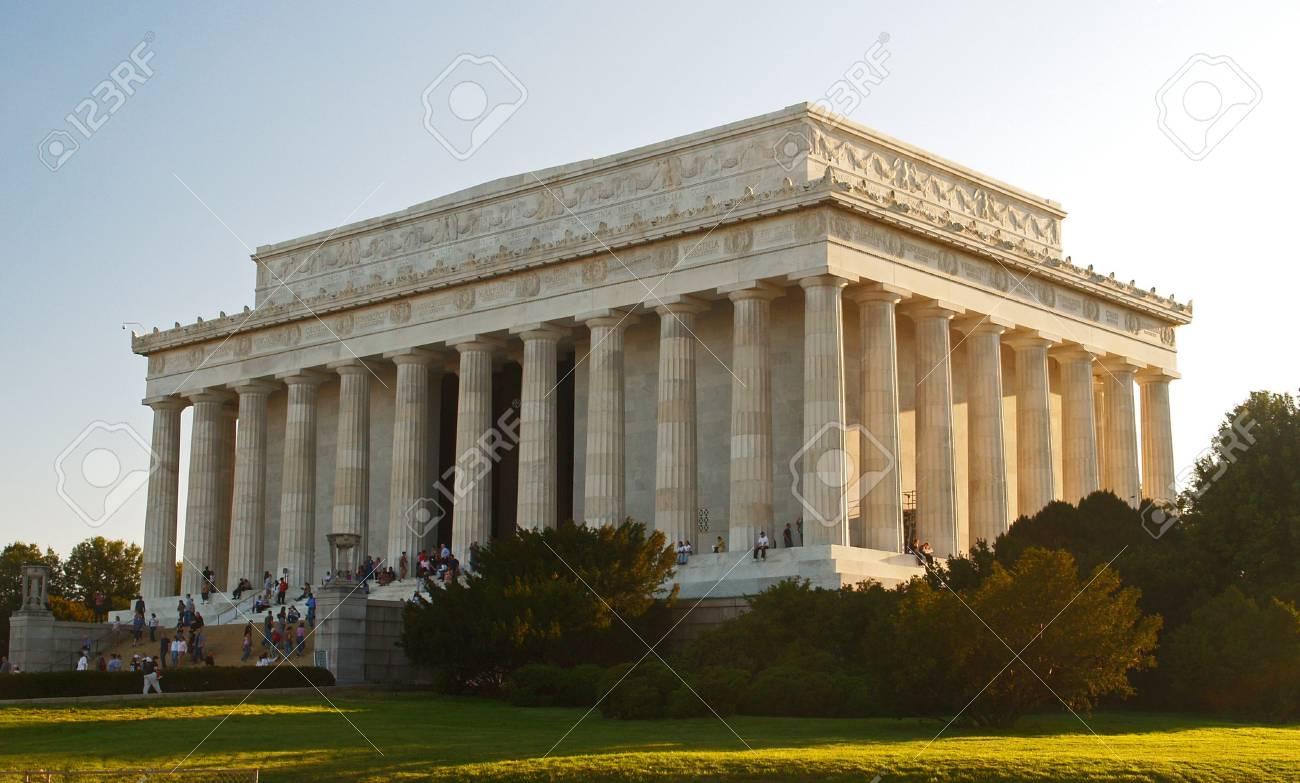 The Lincoln Memorial in Washington DC Stock Photo - 912298