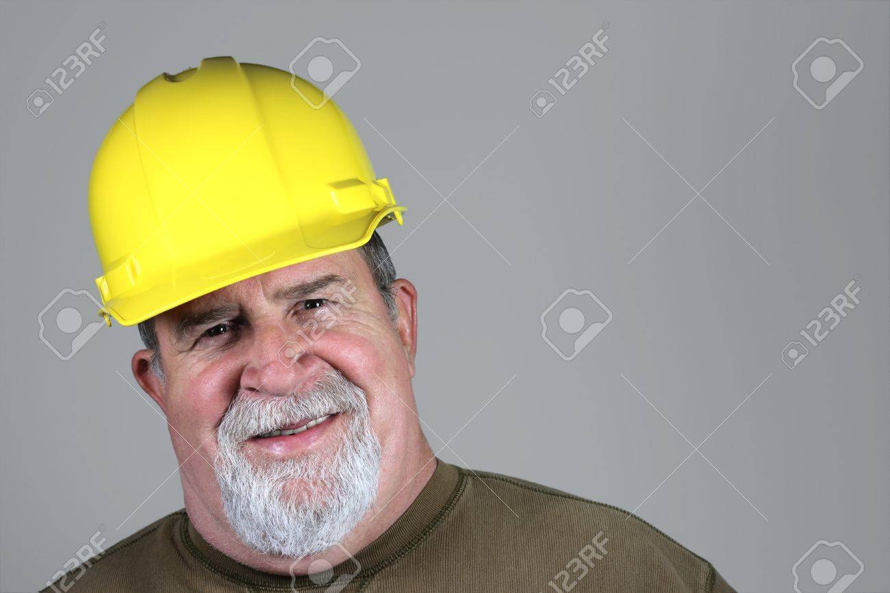 Smiling Construction Worker Stock Photo - 14733205