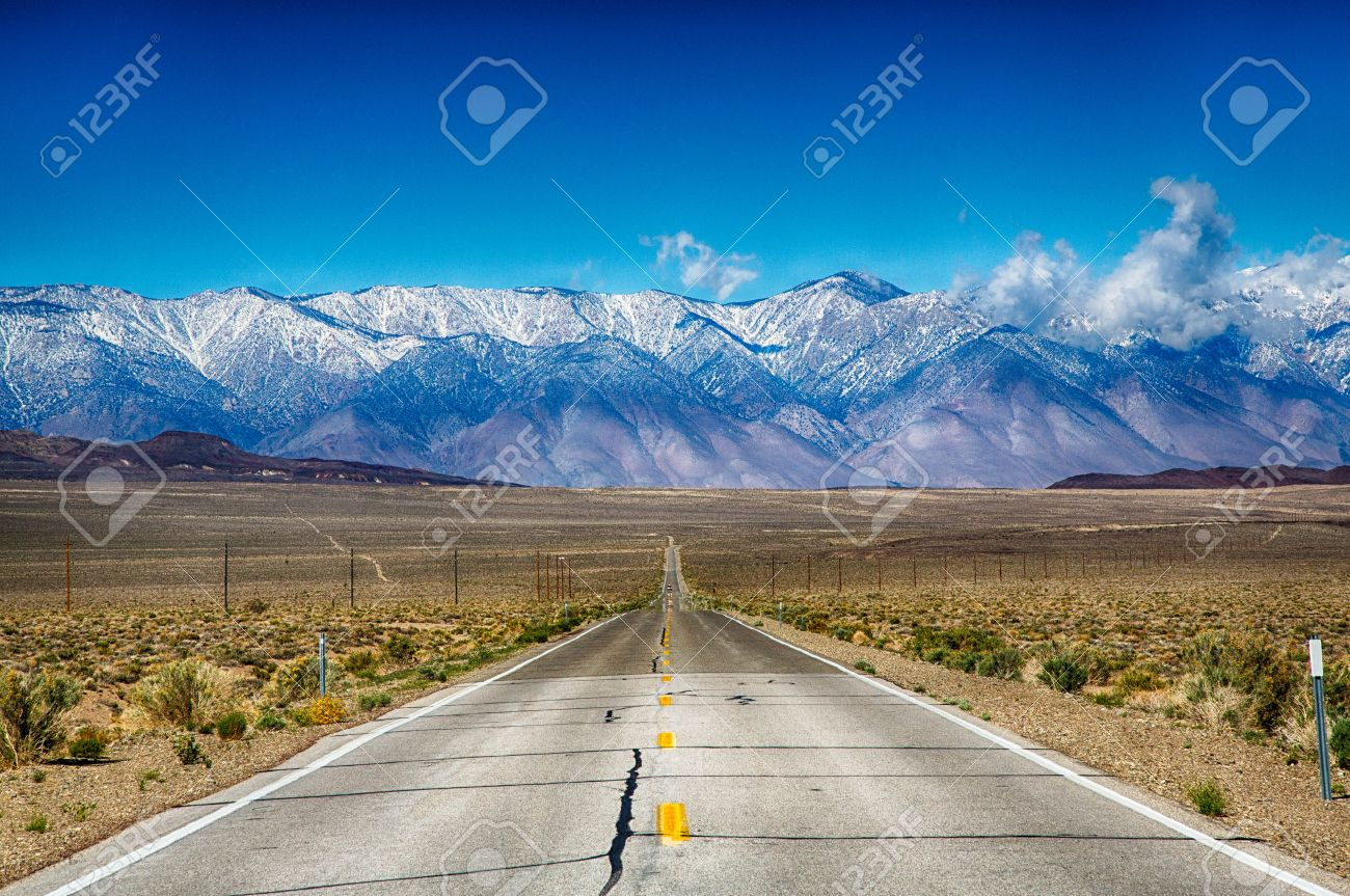 A Road Trip Along The Eastern Sierra Nevada Mountain Range California Stock Photo Picture And Royalty Free Image Image 31581305