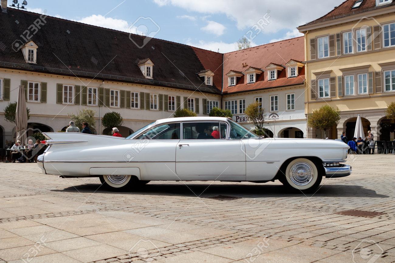Cadillac Eldorado 2017 >> Ludwigsburg Germany April 23 2017 Cadillac Eldorado Oldtimer