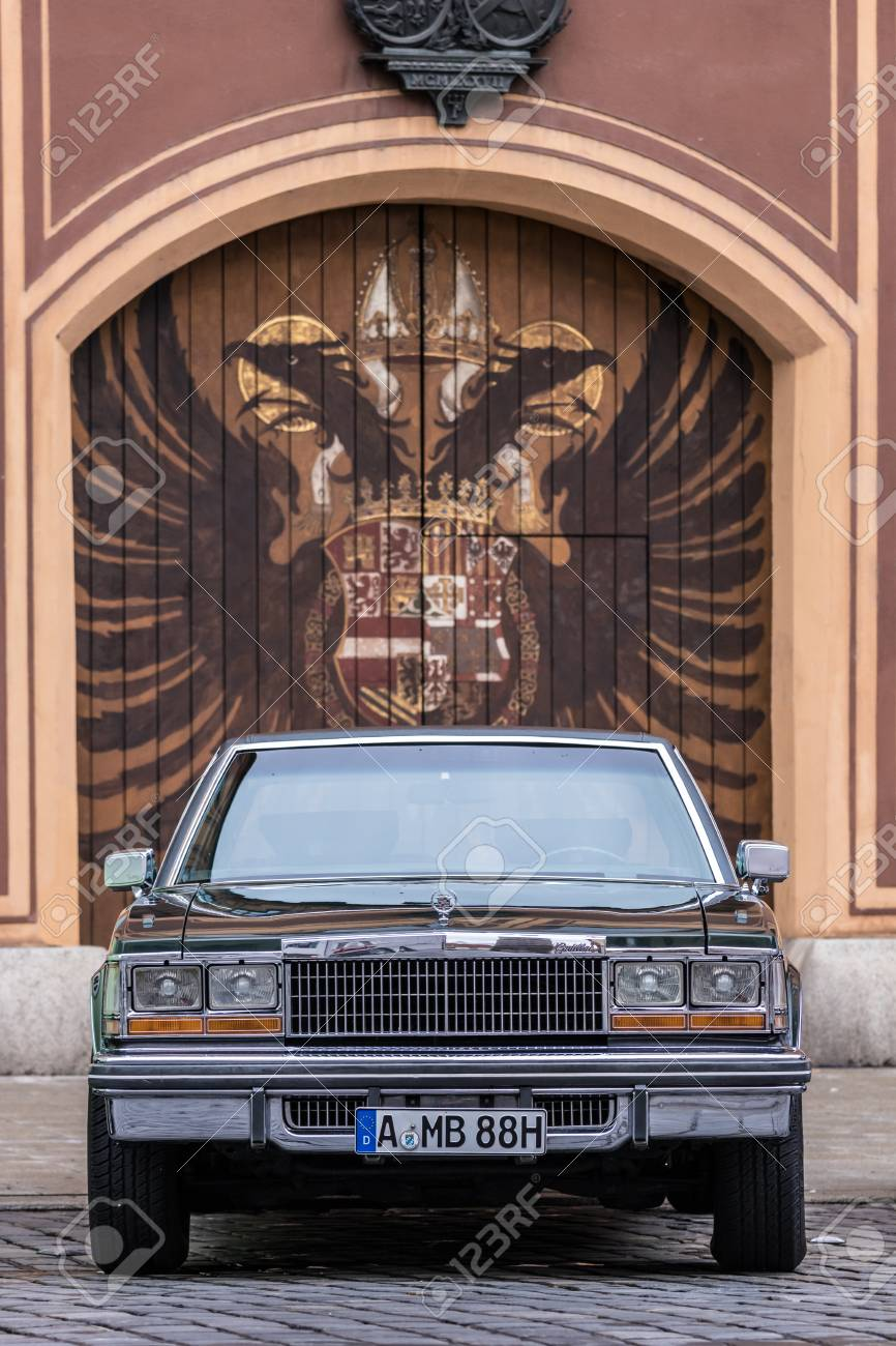 Augsburg Germany October 1 2017 1979 Cadillac Seville Oldtimer