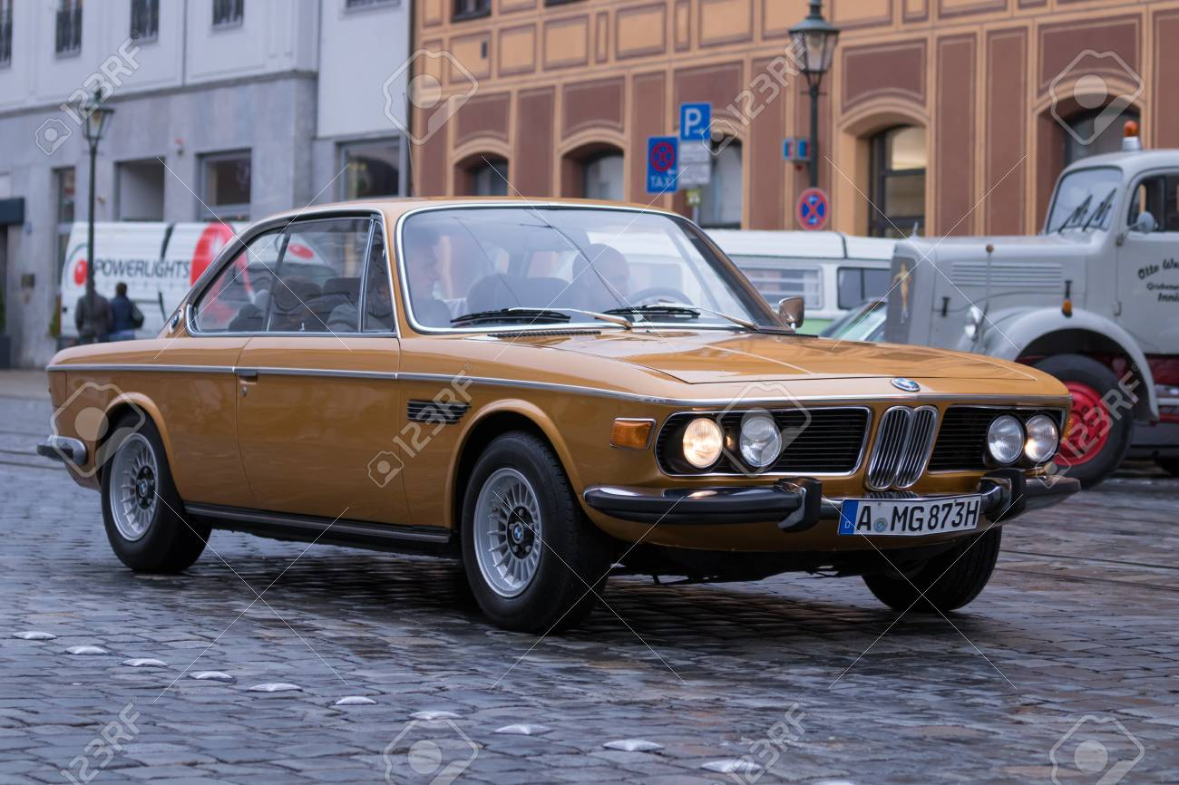 Augsburg Germany October 1 2017 Bmw 3 0 Cs Oldtimer Car Stock Photo Picture And Royalty Free Image Image 91155284