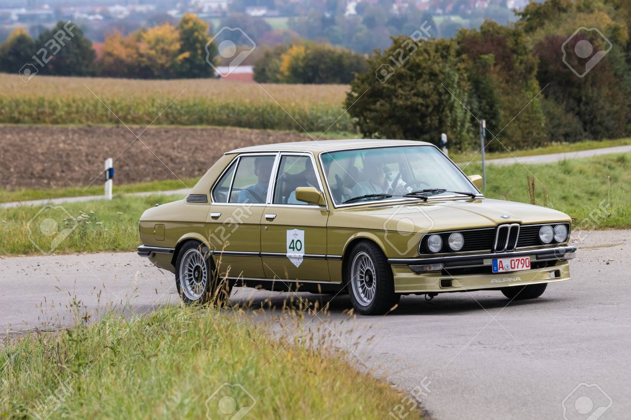 Augsburg Germany October 1 2017 Bmw Alpina Oldtimer Car Stock Photo Picture And Royalty Free Image Image 91224894