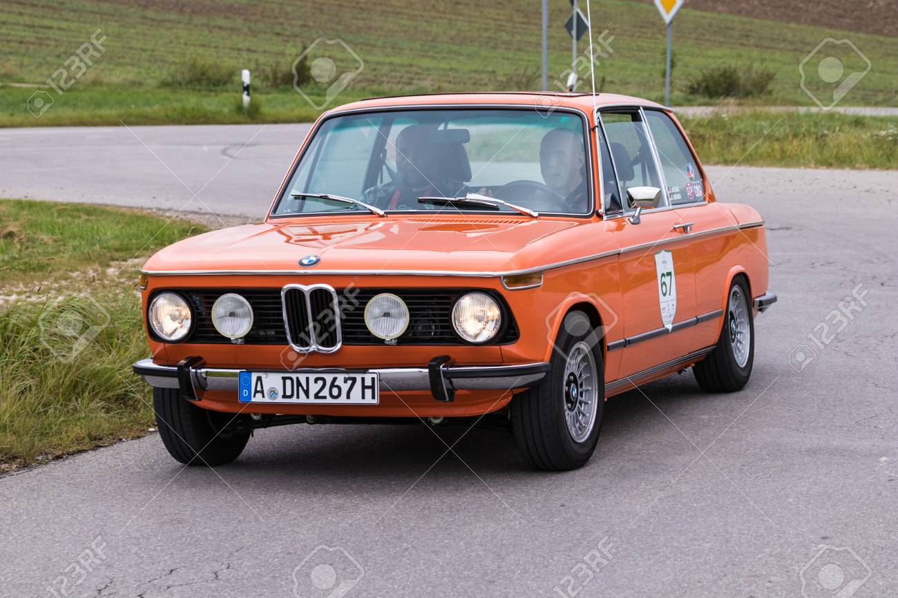 Augsburg Germany October 1 2017 Bmw 2002 Oldtimer Car At Stock Photo Picture And Royalty Free Image Image 91224937