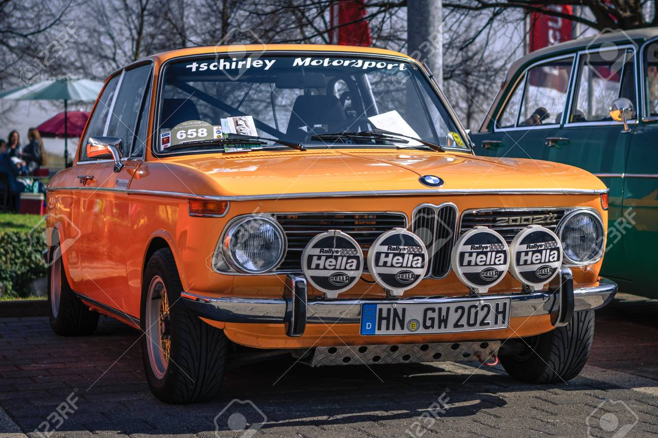Ludwigsburg Germany April 8 2018 Bmw 2002 Ti Oldtimer Car Stock Photo Picture And Royalty Free Image Image 101569148