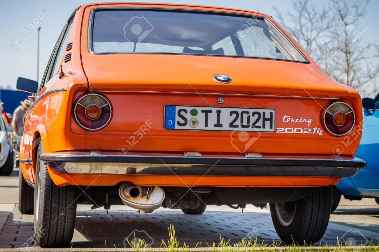 Ludwigsburg Germany April 8 2018 Bmw 2002 Tii Touring Oldtimer Stock Photo Picture And Royalty Free Image Image 101569269