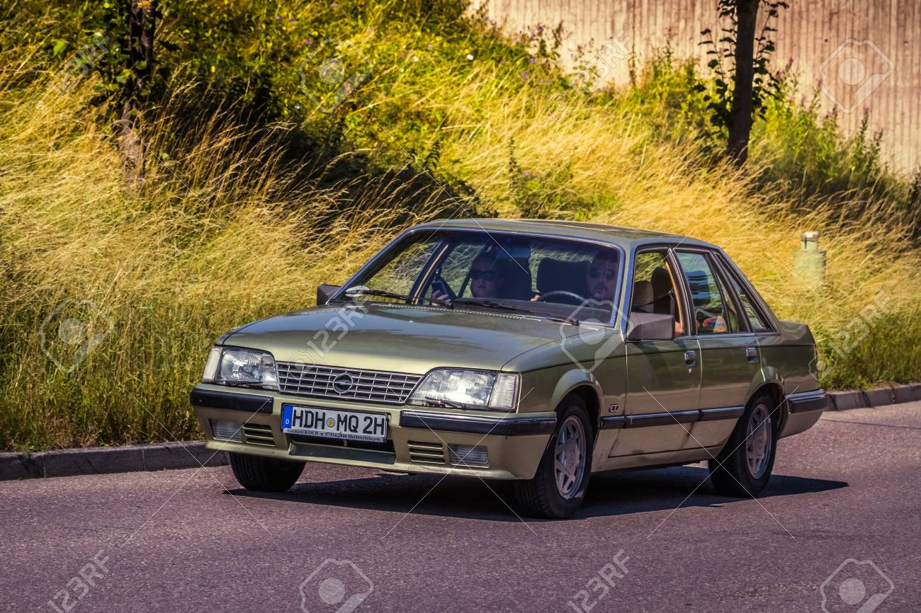 Heidenheim Germany July 8 2018 1984 Opel Senator A2 3 0 Stock Photo Picture And Royalty Free Image Image 106467864