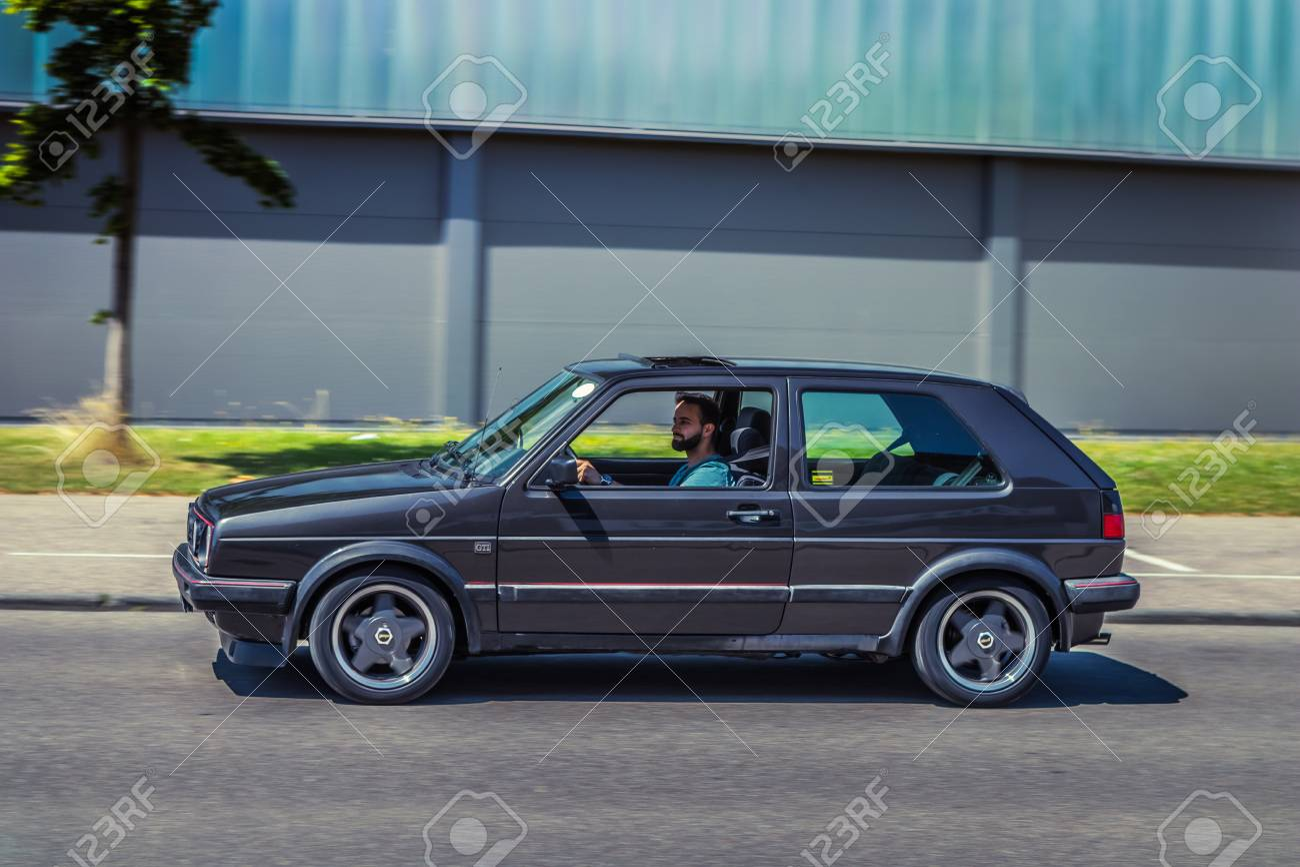 Heidenheim Germany July 8 2018 Volkswagen Golf Ii Gti At